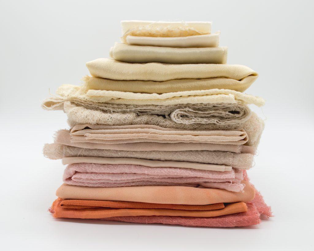 Kimosott textíliák